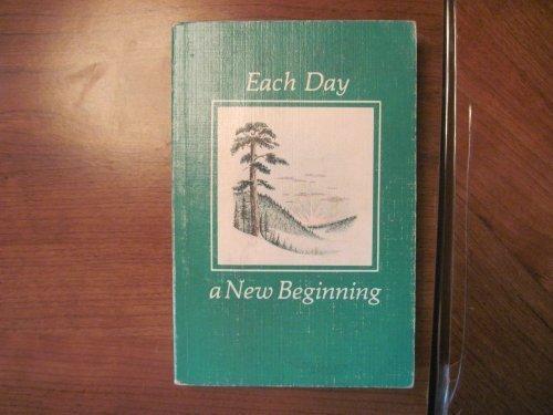 9780894863073: Each Day a New Beginning