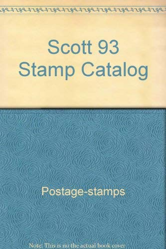 9780894871788: Title: Scott 93 Stamp Catalog British Commonwealth United