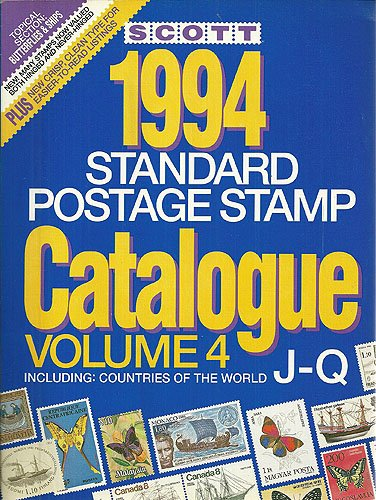 9780894871931: Scott 94 Stamp Catalog: Countries of the World J-Q