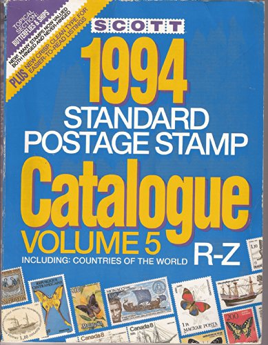 9780894871948: Scott 94 Stamp Catalog: Countries of the World R-Z