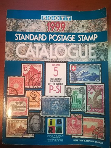 9780894872440: Scott 1999 Standard Postage Stamp Catalogue: Countries of the World P-Si