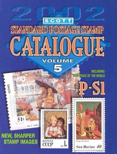 Scott 2002 Standard Postage Stamp Catalogue: Countries: Scott Publishing Co