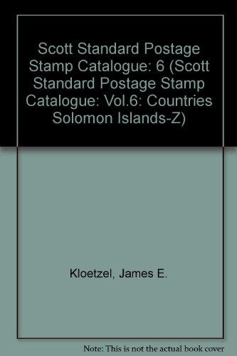 9780894872884: Scott 2003 Standard Postage Stamp Catalogue: Countries of the World S0-Z (SCOTT STANDARD POSTAGE STAMP CATALOGUE VOL 6 SO-Z)