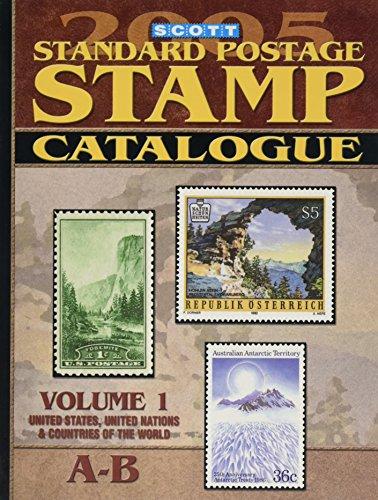 9780894873324: Scott Standard Postage Stamp Catalogue, Vol. 1 (SCOTT STANDARD POSTAGE STAMP CATALOGUE VOL 1 US AND COUNTRIES A-B)