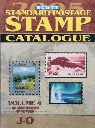 9780894873355: Scott Standard Postage Stamp Catalogue (Scott Standard Postage Stamp Catalogue: Vol.4: Countries J-O)