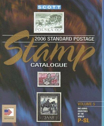 2006 Scott Catalogue: Countries Of The World P-slovenia (Scott Standard Postage Stamp Catalogue Vol...