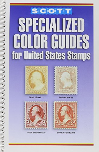 9780894873737: Scott Specialized Color Guides for U.S. Stamps