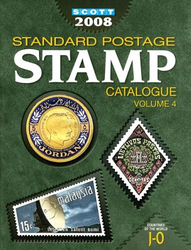 9780894873980: Scott 2008 Standard Postage Stamp Catalogue, Vol. 4: Countries of the World- J-O