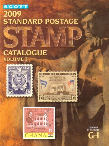 9780894874192: 2009 Scott Standard Postage Stamp Catalogue, Vol. 3: Countries of the World G-I