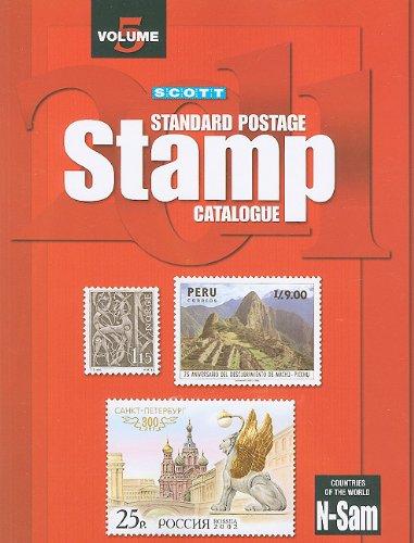 9780894874529: Scott Standard Postage Stamp Catalogue 2011: Countries of the World N-Sam: 5 (Scott Standard Postage Stamp Catalogue Vol 5 Countries N-Sam)