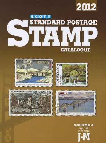 9780894874635: 2012 Scott Standard Postage Stamp Catalogue, Vol. 4: Countries of the World J-M