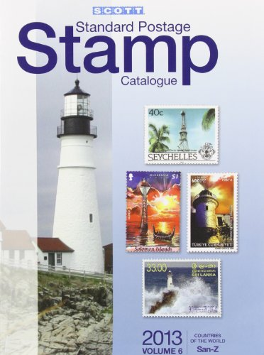 9780894874741: 2013 Scott Standard Postage Stamp Catalogue Volume 6 Countries of the World San-Z (Scott Standard Postage Stamp Catalogue: Vol.6: Countries Solomon Islands-Z)