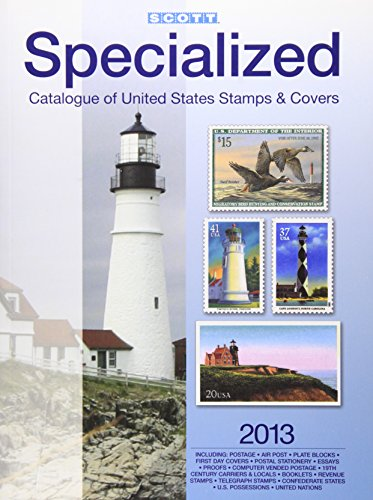 Scott Specialized Catalogue of United States Stamps