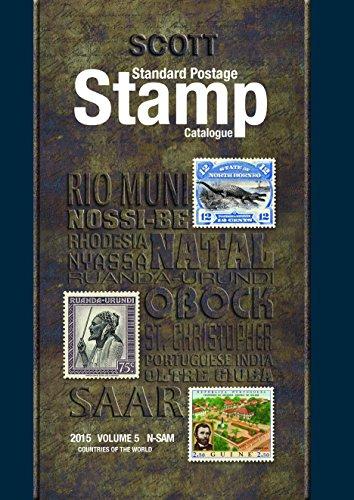 9780894874925: Scott 2015 Standard Postage Stamp Catalogue Volume 5: Countries of the World N-Sam (Scott Standard Postage Stamp Catalogue Vol 5 Countries N-Sam)