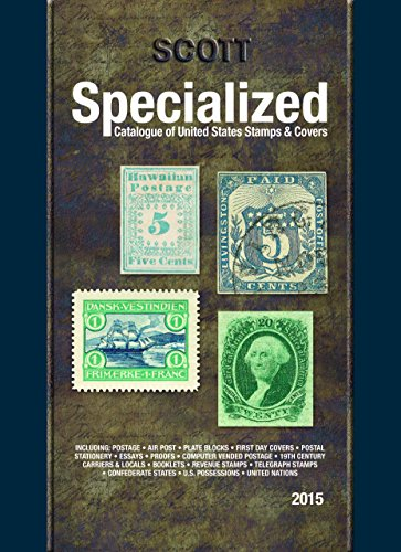 9780894874949: Scott Specialized Catalogue of United States Stamps & Covers