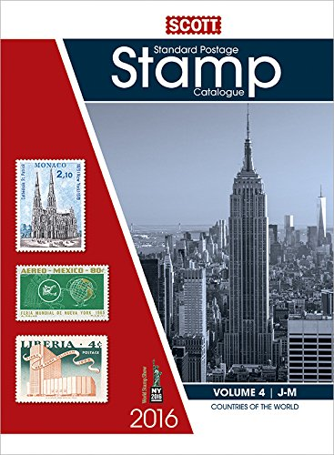 9780894875014: 2016 Scott Catalogue Volume 4 (Countries J-M): Standard Postage Stamp Catalogue (Scott Standard Postage Stamp Catalogue Vol 4 Countries J-M)
