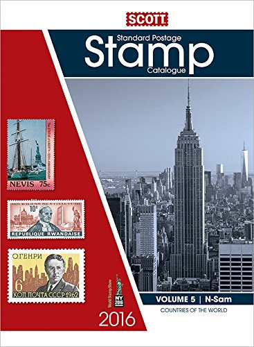 9780894875021: Scott Standard Postage Stamp Catalogue 2016: Countries N-sam: 5