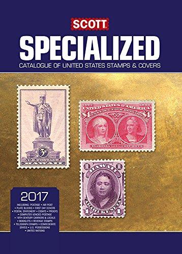 9780894875137 Scott 2017 Specialized United States Postage