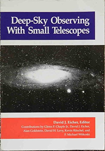 9780894900754: Deep Sky Observing with Small Telescopes