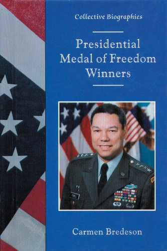 9780894907050: Presidential Medal of Freedom Winners (Collective Biographies)