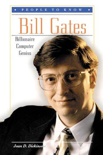 9780894908248: Bill Gates: Billionaire Computer Genius (People to Know)