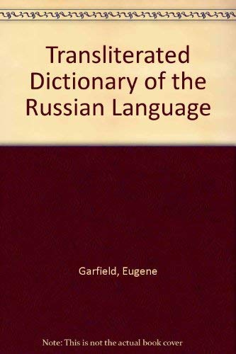9780894950117: Transliterated Dictionary of the Russian Language
