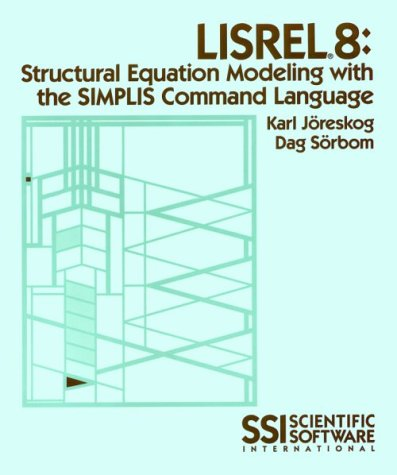 9780894980336: LISREL 8: Structural Equation Modeling with the SIMPLIS Command Language