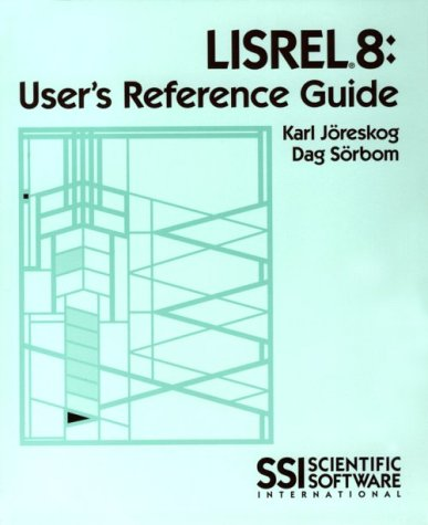 9780894980404: Lisrel 8: User's Reference Guide