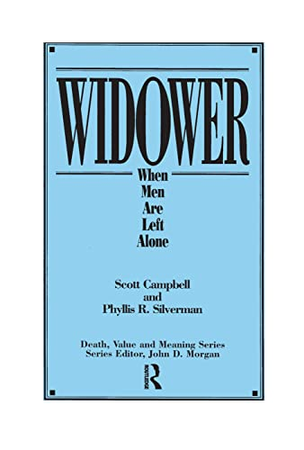 9780895031402: Widower: When Men Are Left Alone (Death, Value and Meaning Series)