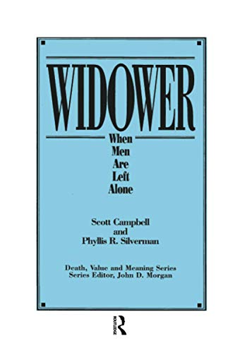 9780895032867: Widower: When Men are Left Alone (Death, Value and Meaning Series)