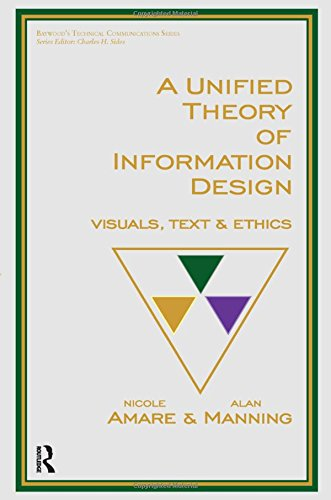 9780895037787: A Unified Theory of Information Design: Visuals, Text and Ethics (Baywood's Technical Communications)