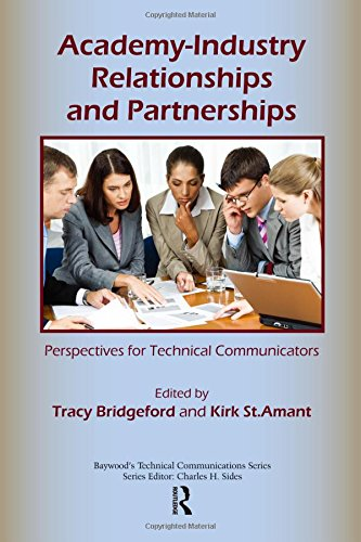 9780895039064: Academy-Industry Relationships and Partnerships: Perspectives for Technical Communicators (Baywood's Technical Communications)