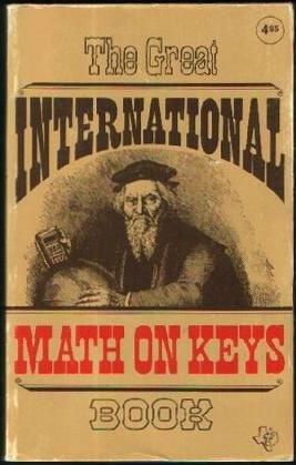 9780895120021: Great International Math On Keys Book