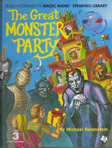 9780895120748: The Great Monster Party Level 3 Early Elementary (Book Only) (Texas Intruments Magic Wand Speaking Library (Speak and Learn))
