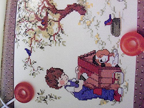 Sarah Kay - An Undated Calendar with Designs in Counted Cross Stitch (0895150018) by Vanessa-Ann
