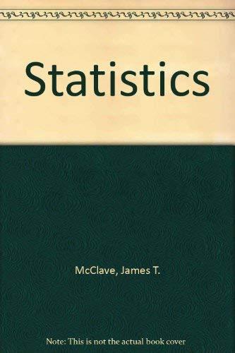 9780895170163: Statistics
