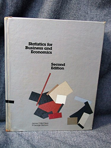 9780895170330: Statistics for business and economics