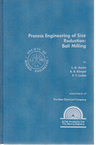 9780895204219: Process Engineering of Size Reduction: Ball Milling
