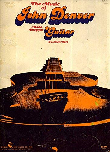 9780895240187: The Music of John Denver Made Easy For Guitar [Songbook]
