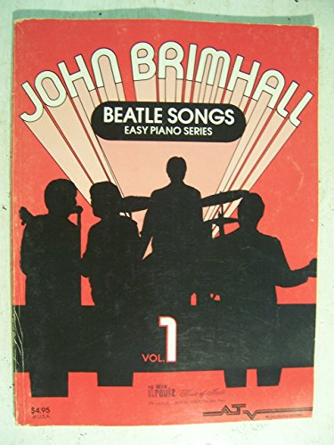 John Brimhall Beatles Sogns Easy Piano Series
