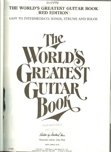 Worlds Greatest Guitar Book (Red Edition) (9780895241047) by Okun, Milton