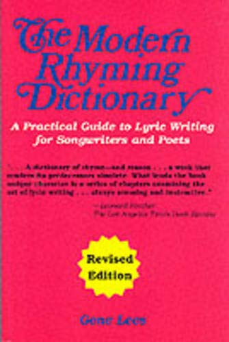 The Modern Rhyming Dictionary Edition: Gene Lees