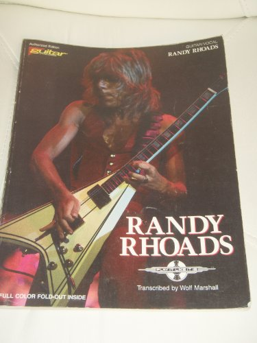 9780895243379: Randy Rhoads: Guitar Vocal