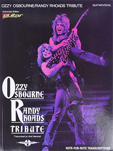 Ozzy Osbourne/ Randy Rhoads Tribute [Authorized Edition Guitar Vocal] (Play It Like It Is): ...