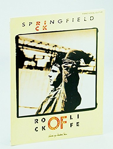 9780895243829: Rick Springfield : Rock of Life, Piano, Vocal, Guitar