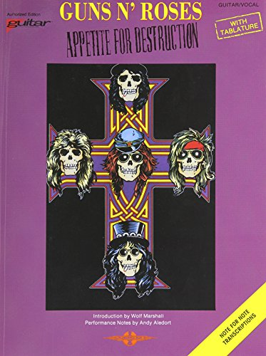 9780895243867: Guns N Roses - Appetite for Destruction: Guitar/Vocal/Tablature