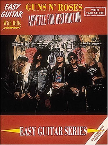 9780895244154: Guns N' Roses - Appetite For Destruction (Easy Guitar Series)