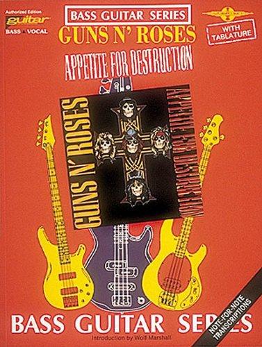 9780895244161: Guns n' Roses: Appetite for Destruction (Bass Guitar)