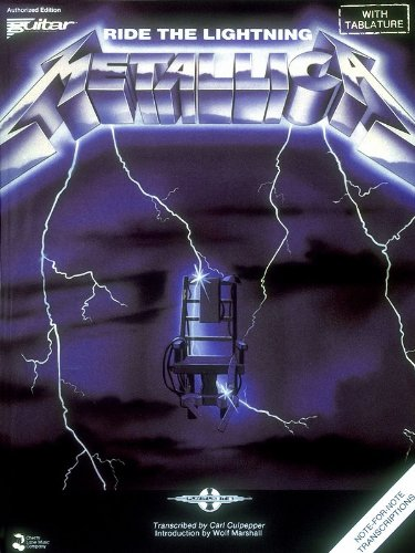 9780895244949: Metallica - Ride the Lightning (Play It Like It Is)