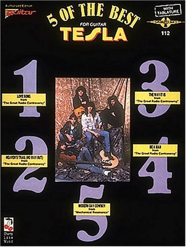 9780895245281: 5 Of The Best For Guitar Tesla With Tablature 112 (Play it Like it is)